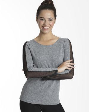 Träningströja i grått eller svart
