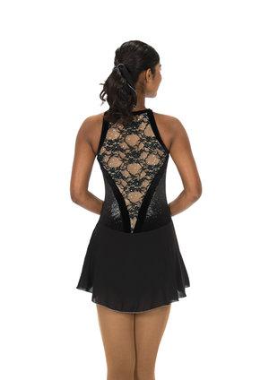 Svart ärmlös klänning