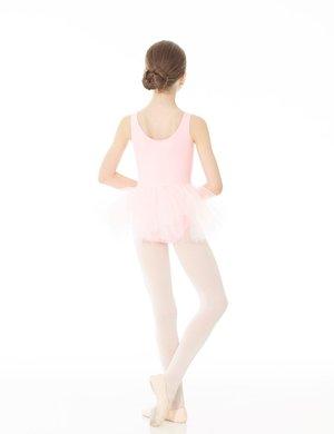 Söt ärmlös balettklänning