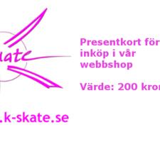 Presentkort 200:-