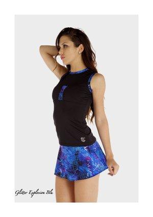 Halvrund glittermönstrad kjol från Thuono