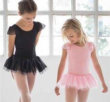 Söt balettklänning i svart eller rosa