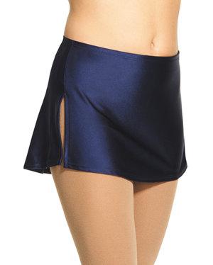 Rak enfärgad kjol i lycra i flera färger