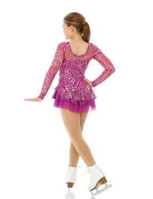 rosa klänning med glitter