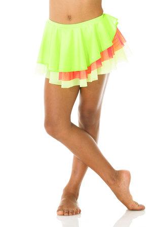 Söt kjol i flera neonfärger