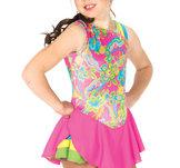 Färgstark klänning