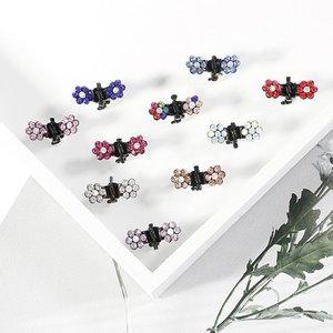 Miniklämmor med kristallblommor