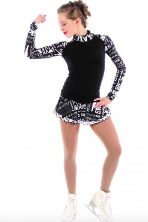 Mönstrad kjol från Elitexpression