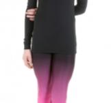 Byxor från Elitexpression i svart och rosa