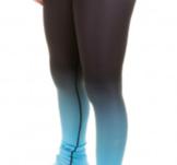 Byxor från Elitexpression i svart och blått