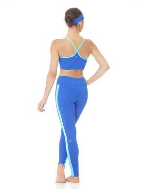 Kornblå leggings
