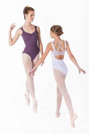 Dansbody med snygg rygg