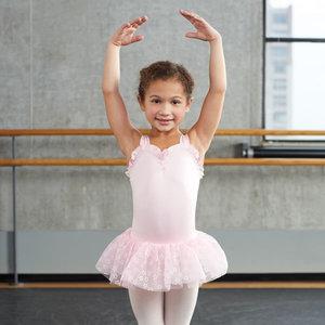 Balettklänning i rosa eller lavendel