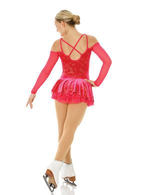 Långärmad klänning med fin detalj i ryggen