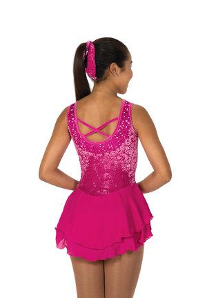 Rosa klänning med paljetter