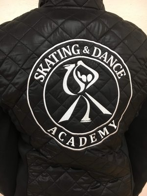 Svart klubbväst Skate academy