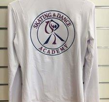 Vit klubbjacka Skate academy