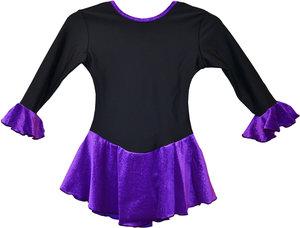 Varm klänning med glittrig kjol