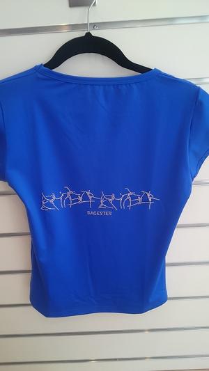 T-shirt från Sagester med Swarovski i flera färger