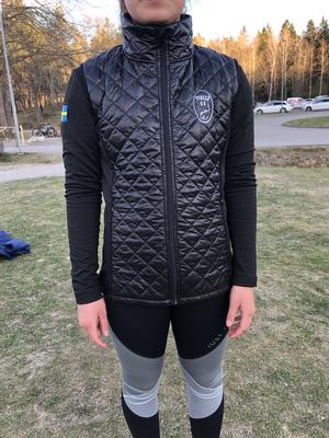 Svart klubbväst Tyresö Konståkningsklubb