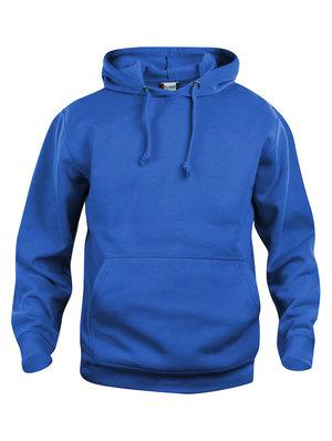 Hoodtröja i svart eller kornblått