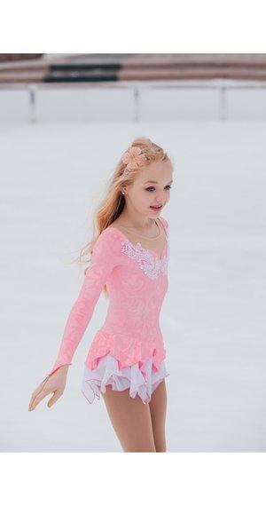 Rosa prinsessklänning från elitexpression