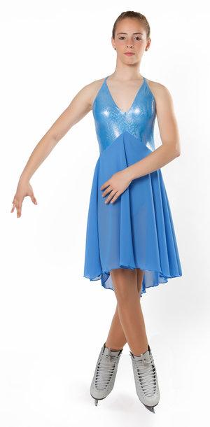 Längre klänning lämplig för synkro eller solodans