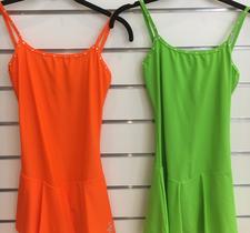 Klänning från Sagester i orange eller grön