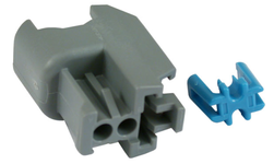 OEM Front & Rear Fuel Injector Connector with Termin