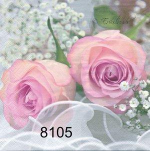 Romantiska rosor  8105