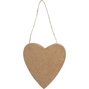 Hjärta, H: 12,5 cm, 1st.