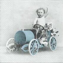 Boy in car     sa4006