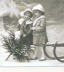 Barn med gran    Sa4026