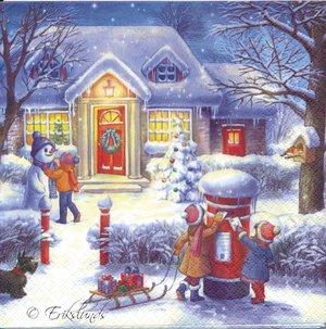 Barn postar julkort   sej2013