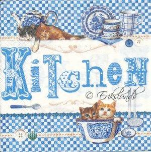 Katt i köket