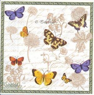 Vintage fjärilar   3078