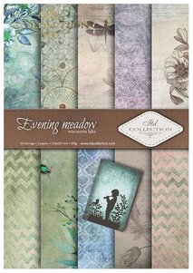 Scrapbooking papers SCRAP-012 ''Evening meadow''