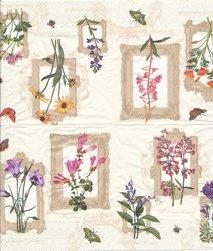 Små tavlor med blommor
