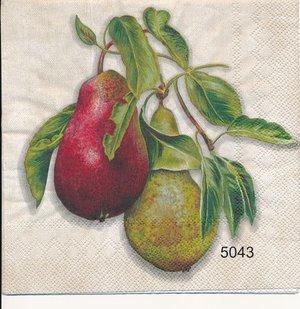 Päron och äpplen (olika Motiv)