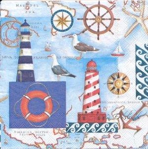 Marint med karta    seh5017