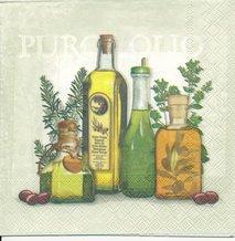Flaskor med olja