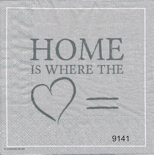 Home is where the hart is( grå ton)