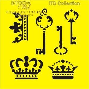 Stencil 16X16 cm    ST0076