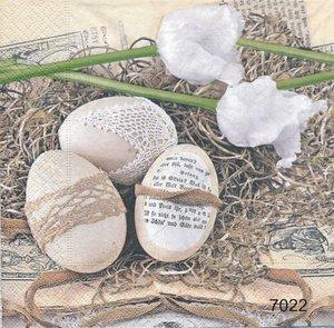 Shabby chick ägg  sep7022