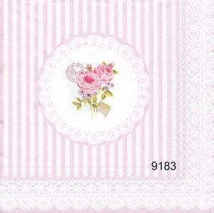 Spetsduk med blomma