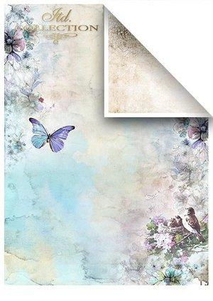 Scrapbooking papers SCRAP-046 ''Summertime in blue''''