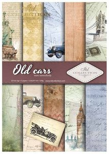 Scrapbooking papers SCRAP-010 ''Old cars''