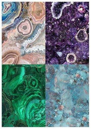 Scrapbooking papers SCRAP-053 ''Gemstones''