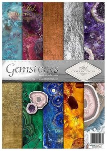 Scrapbooking papers SCRAP-053 ''Gemstones''