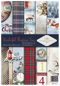 Scrapbooking papers SCRAP-051 ''Wonderful Christmas Time''